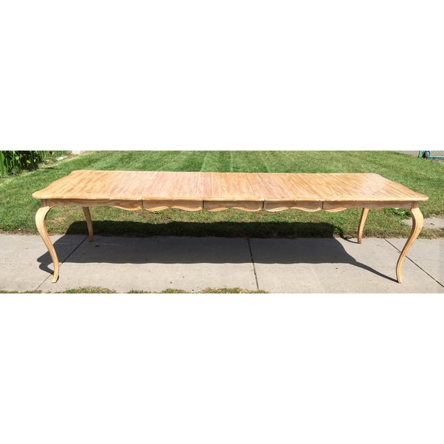 1950s French Country Style Long Dining Table For Sale - Image 13 of 13