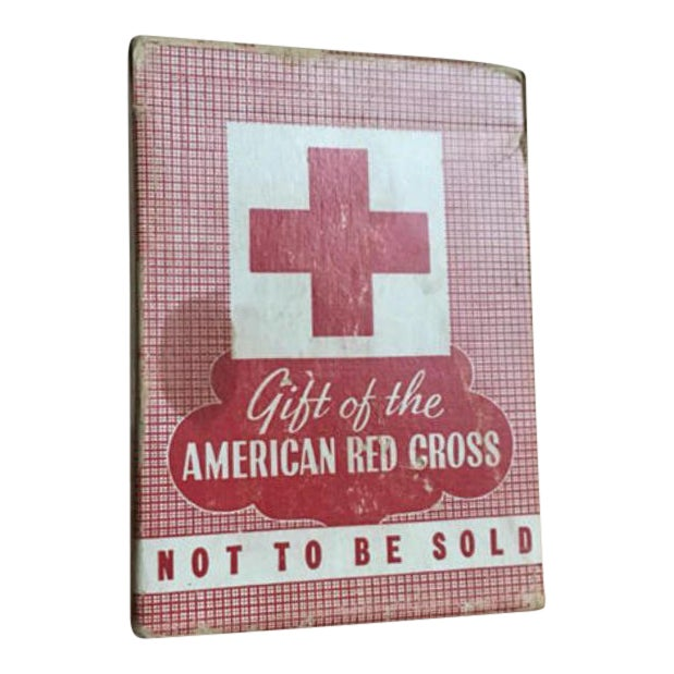 American Red Cross Playing Cards For Sale