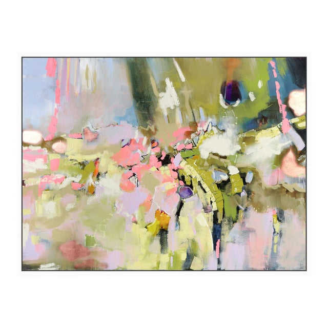 """Oliver Gal Medium 'Michaela Nessim - Energy and Breakthrough' Framed Art 24"""" x 18"""" For Sale"""