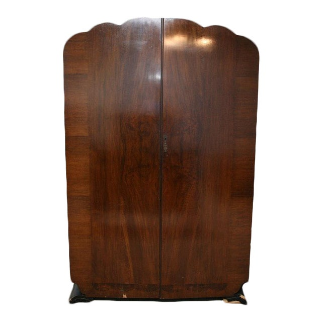Vintage Wooden Armoire - Image 1 of 11