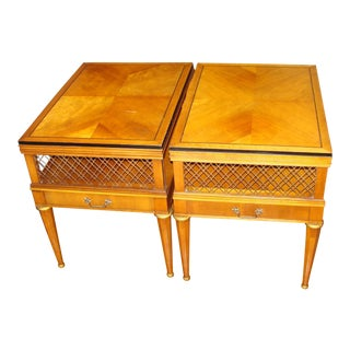 Traditional Weiman Side Tables - a Pair For Sale