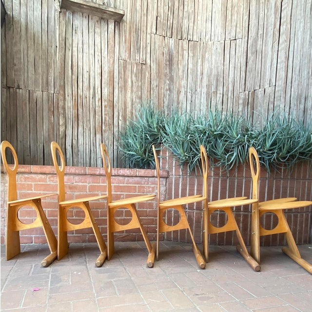 Max Gottschalk Fanny Chairs - Set of 6 For Sale - Image 10 of 13