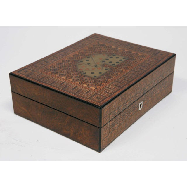 19th Century English Game Box For Sale - Image 10 of 11
