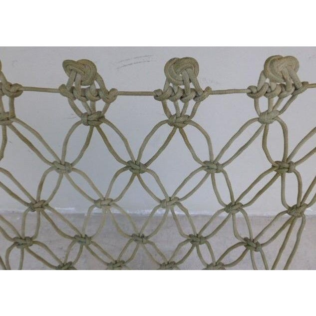 Tan 1990s Vintage Marcel Wanders for Droog Design Knotted Chair For Sale - Image 8 of 13