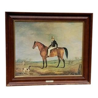 Antique Mezzotint Painting by Abraham Cooper