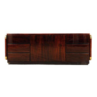 1970s Mid-Century Modern Rosewood Credenza/Sideboard For Sale