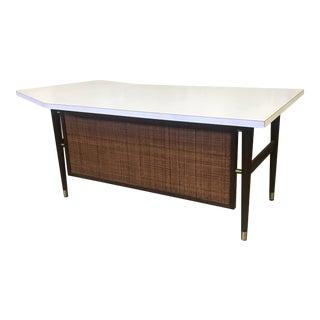 Domore Mid Century Modern Kindey Shape Executive Desk