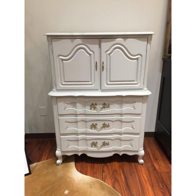 """Ella"" Tall Light Grey French Provincial Dresser - Image 6 of 6"