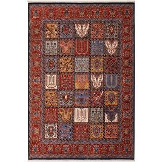 Contemporary Kafkaz Zeigler Roseanne Wool Rug - 8′2″ × 9′9″ For Sale