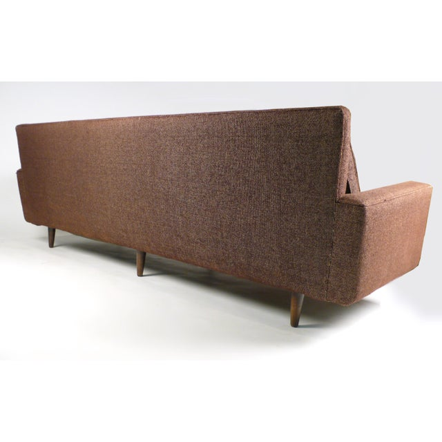 1950s Early Florence Knoll Down-Filled Sofa For Sale - Image 5 of 7