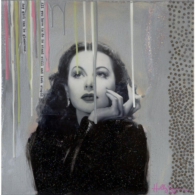 Holly Suzanne Print - Any Girl Can Be Glamorous For Sale