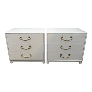 Dorthy Draper Style Vintage Henredon Dressers For Sale