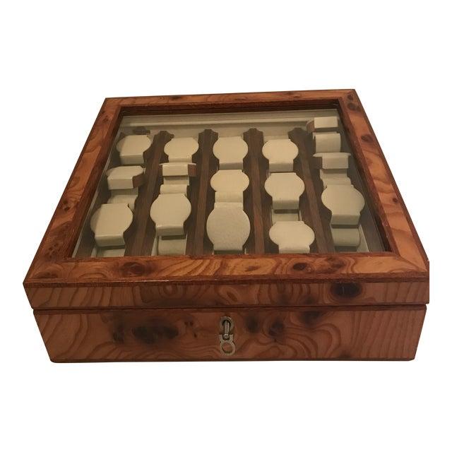 Agresti Briar Wood Watch Case For Sale