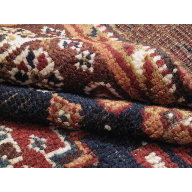 Textile Qashqai Rug For Sale - Image 7 of 8