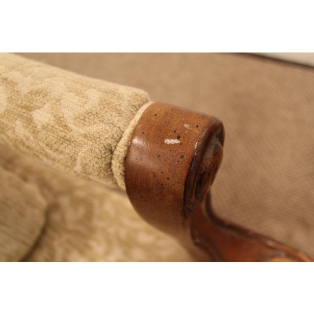 French Ladies Open Arm Ball & Claw Arm Chairs - A Pair - Image 9 of 11