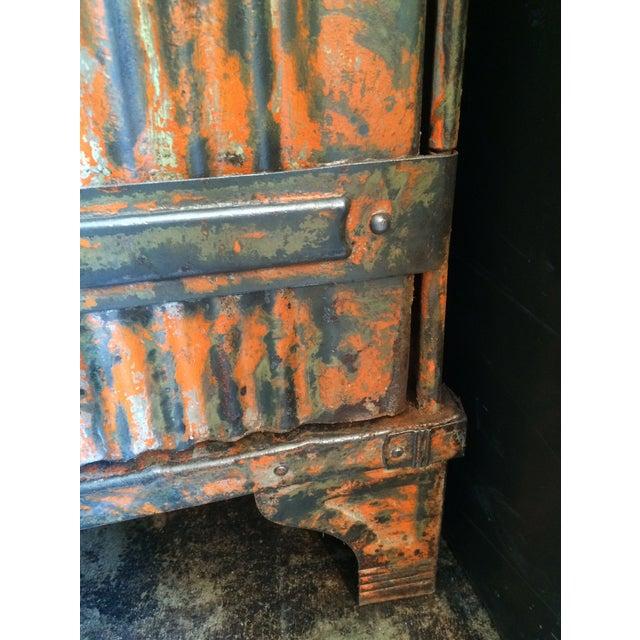 1930's French Vintage Industrial 4 Door Locker - Image 11 of 11