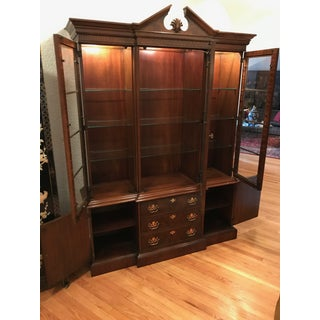 20th Century Chippendale Drexel Mahogany China Cabinet Preview