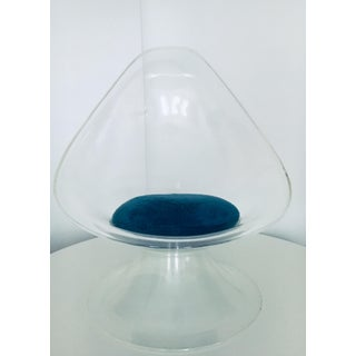 Estelle & Erwin Laverne Mid Century Modern Space Age Lucite Lily Chair Preview
