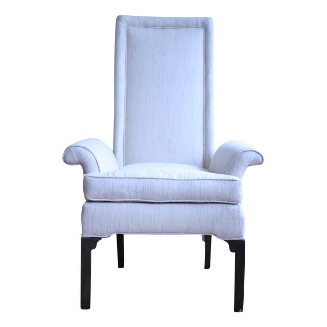 Italian Wingback Chair - Image 1 of 5
