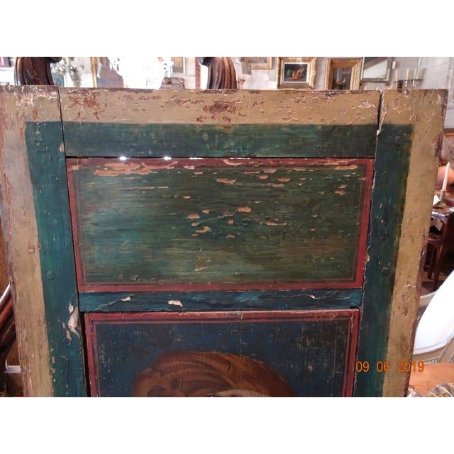 19th Century Italian Painted Wood Panels For Sale - Image 4 of 13