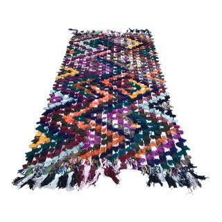 1960s Traditional Bohemian Turkish Wool Kilim Rug For Sale