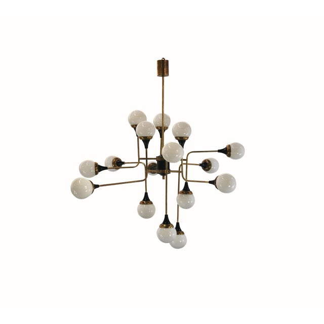 6th Century Style Chandelier in 16 Lights For Sale - Image 6 of 6