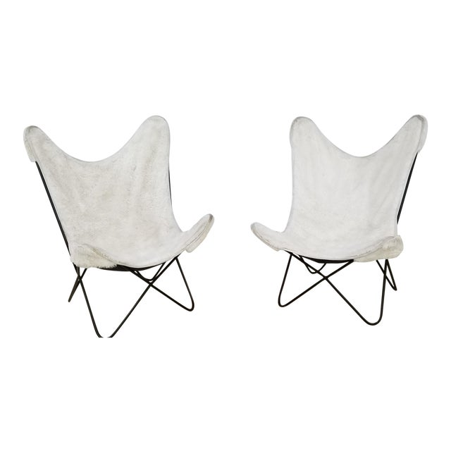 Mid Century Knoll Butterflies Chairs - a Pair For Sale