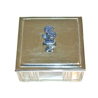 Sea Serpent Cigarette Box For Sale