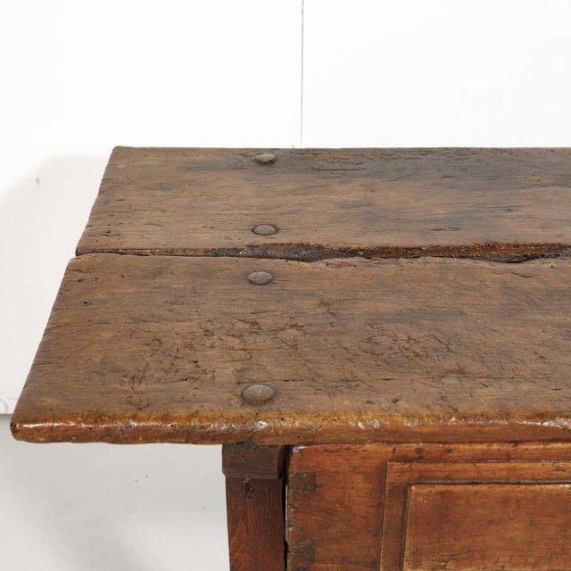 18th Century Solid Walnut Spanish Side Table For Sale In Birmingham - Image 6 of 13