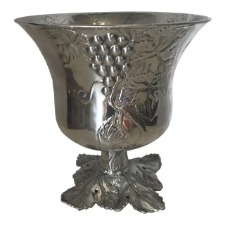Vintage Embossed Arthur Court Wine Holder For Sale