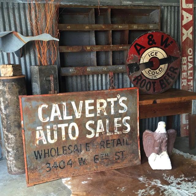 Vintage Industrial Cabinet - Image 5 of 9