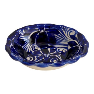 Italian Hand-Painted Soap Dish For Sale
