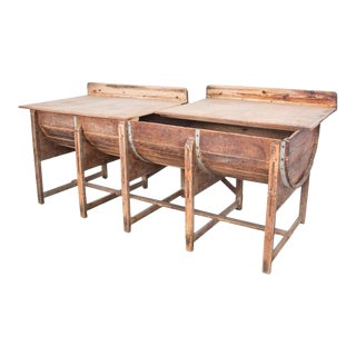 1920s Belgian Bakery Table For Sale