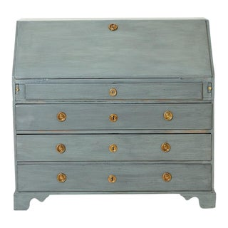 Antique Gustavian Secretary Desk For Sale