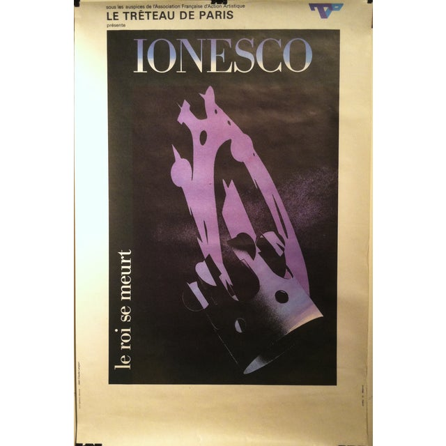 "Jean-Claude Lenglart ""Ionesco"" French Lithograph - Image 2 of 8"