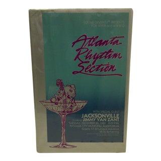 Atlanta Rhythm Section Vintage Concert Poster For Sale