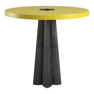 Danielle Side Table - Black Cerused Oak - Citron For Sale