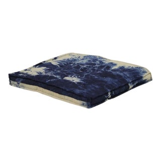 Modern Tie Dye Floor Pillow For Sale