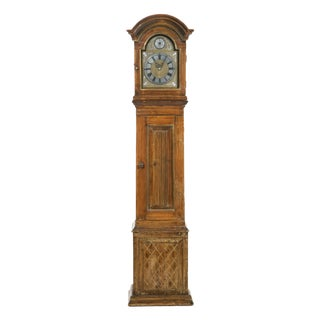 Early 19th Century Pine Long Case Clock For Sale