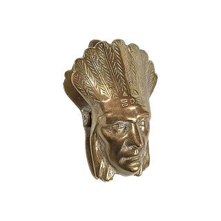 Brass Chief Wall Clip For Sale
