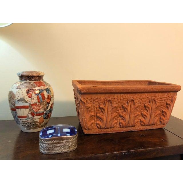 Italian Window Box Terracotta Herb Planter Chairish