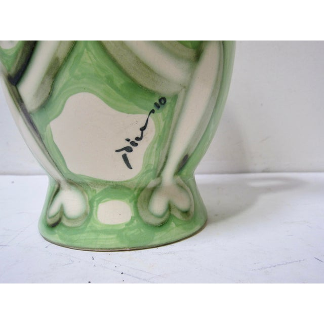 Modern 1960s Vintage Pablo Picasso by Padilla Cubist Ceramic Face Vase, Signed For Sale - Image 3 of 7