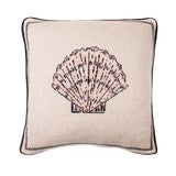 Image of Fee Greening - Scallop Shell Cashmere Pillow For Sale