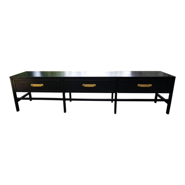 Vintage America of Martinsville Painted Hollywood Regency Style Console For Sale