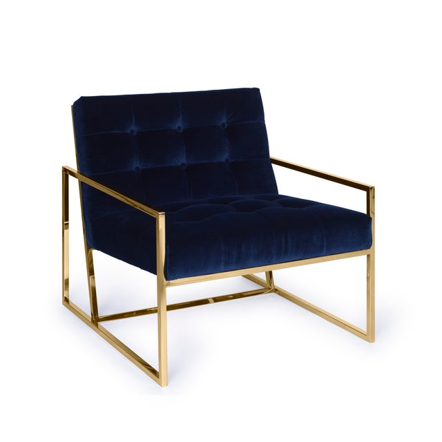 Pasargad's Firenze Collection Lounge Chair - Image 8 of 8