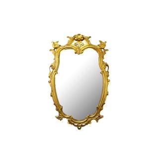 Vintage Gold Gilt Wood Mirror