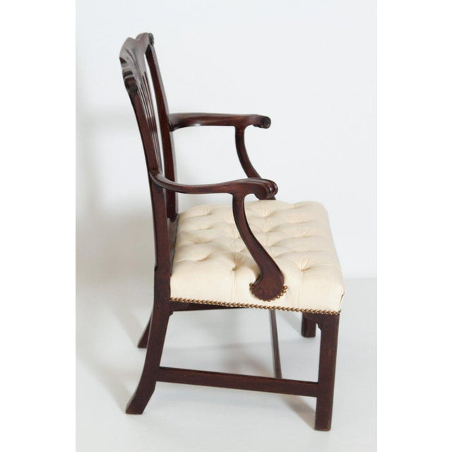 Chippendale Late 18th Century Chippendale Mahogany Armchair For Sale - Image 3 of 13