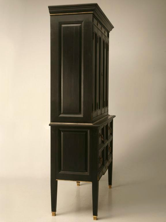 Vintage Jacques Adnet Style Cupboard, Bar, Or TV Cabinet   Image 11 Of 11