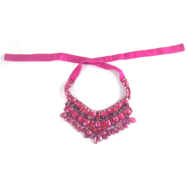 Vintage Valentino Runway Neck Piece For Sale - Image 4 of 7