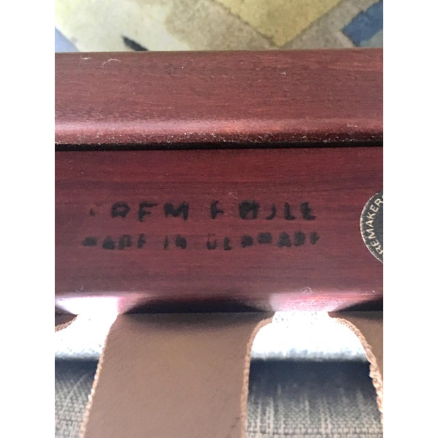 Brown Poul Volther Rocking Chair For Sale - Image 8 of 9